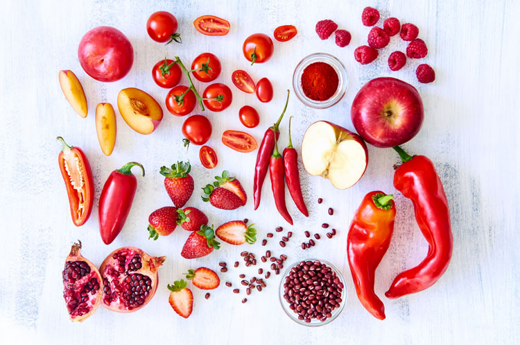 benefits of red fruits and veggies isabel smith nutrition