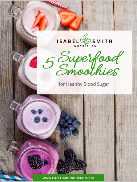 5 Smoothies for Healthy Blood Sugar