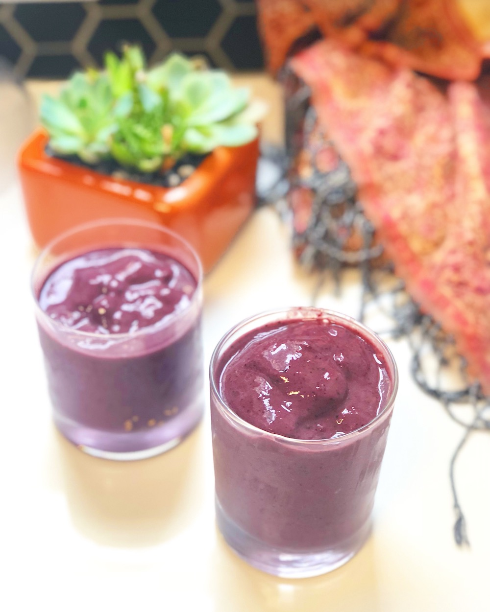 Blackberry Good Mood smoothie