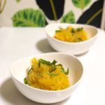 Simple Roasted Spaghetti Squash and Herbs
