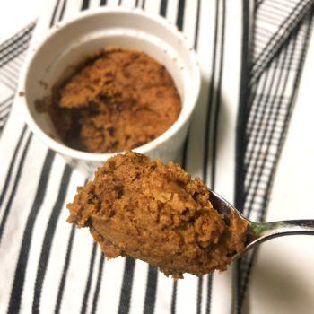 1 Minute Milk Chocolate Mug Cake {vegan, paleo} in a cup