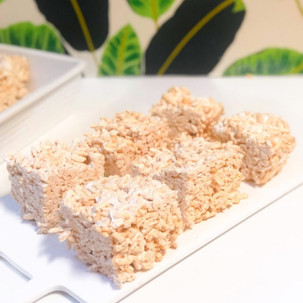 3 ingredient rice crispy treats