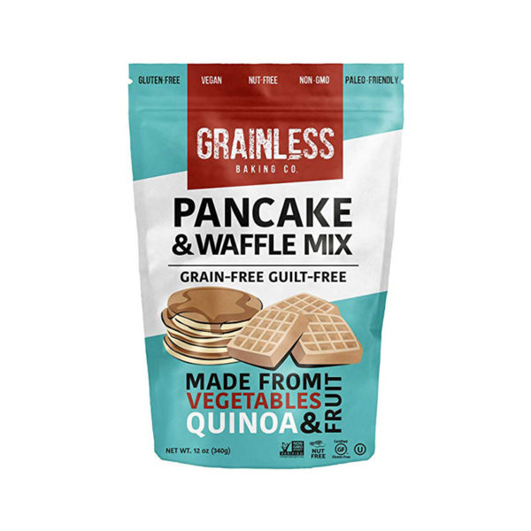 Grainless pancake & waffle mix