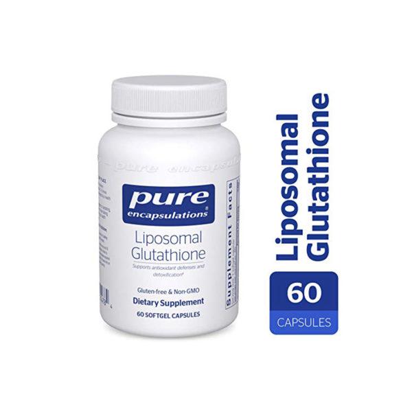 Pure Liposomal Glutathione container