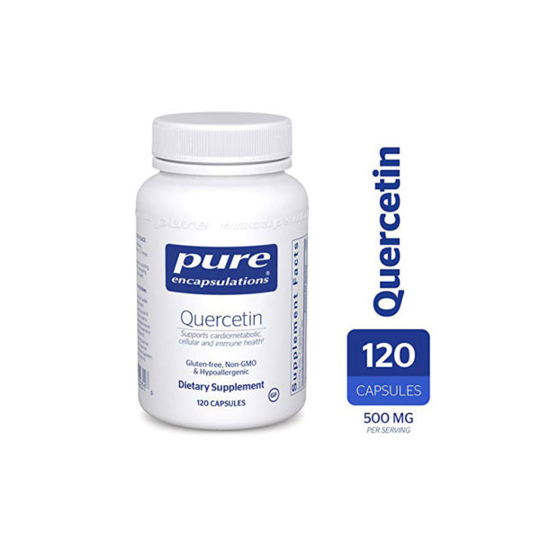 Pure Quercetin dietary supplement container