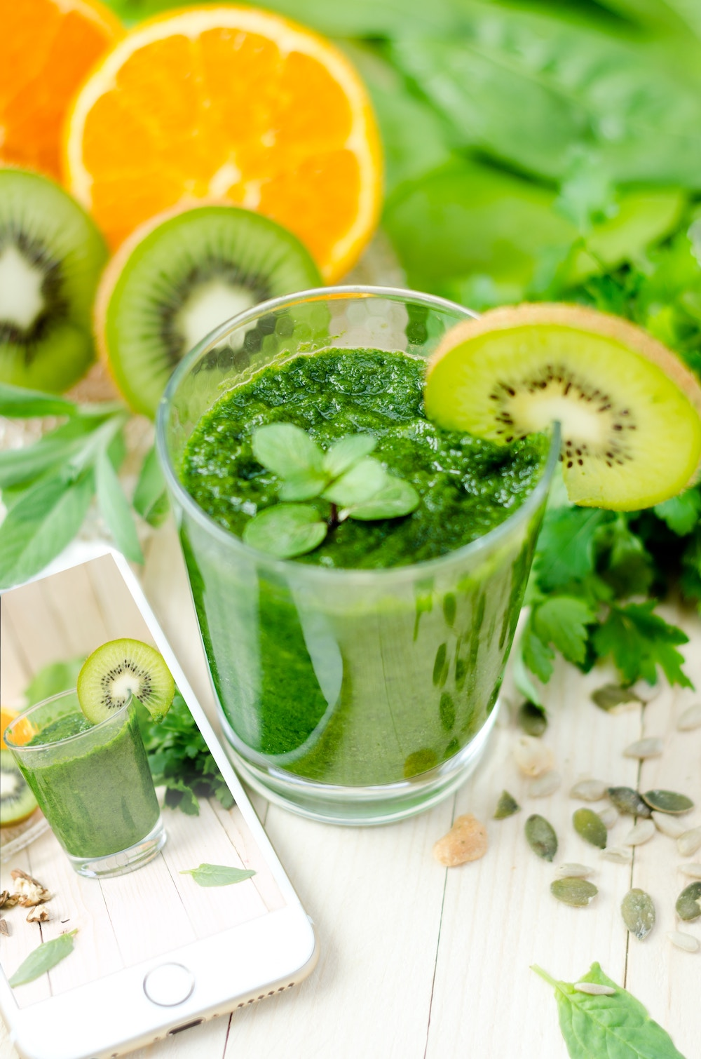 Springy Green Smoothie