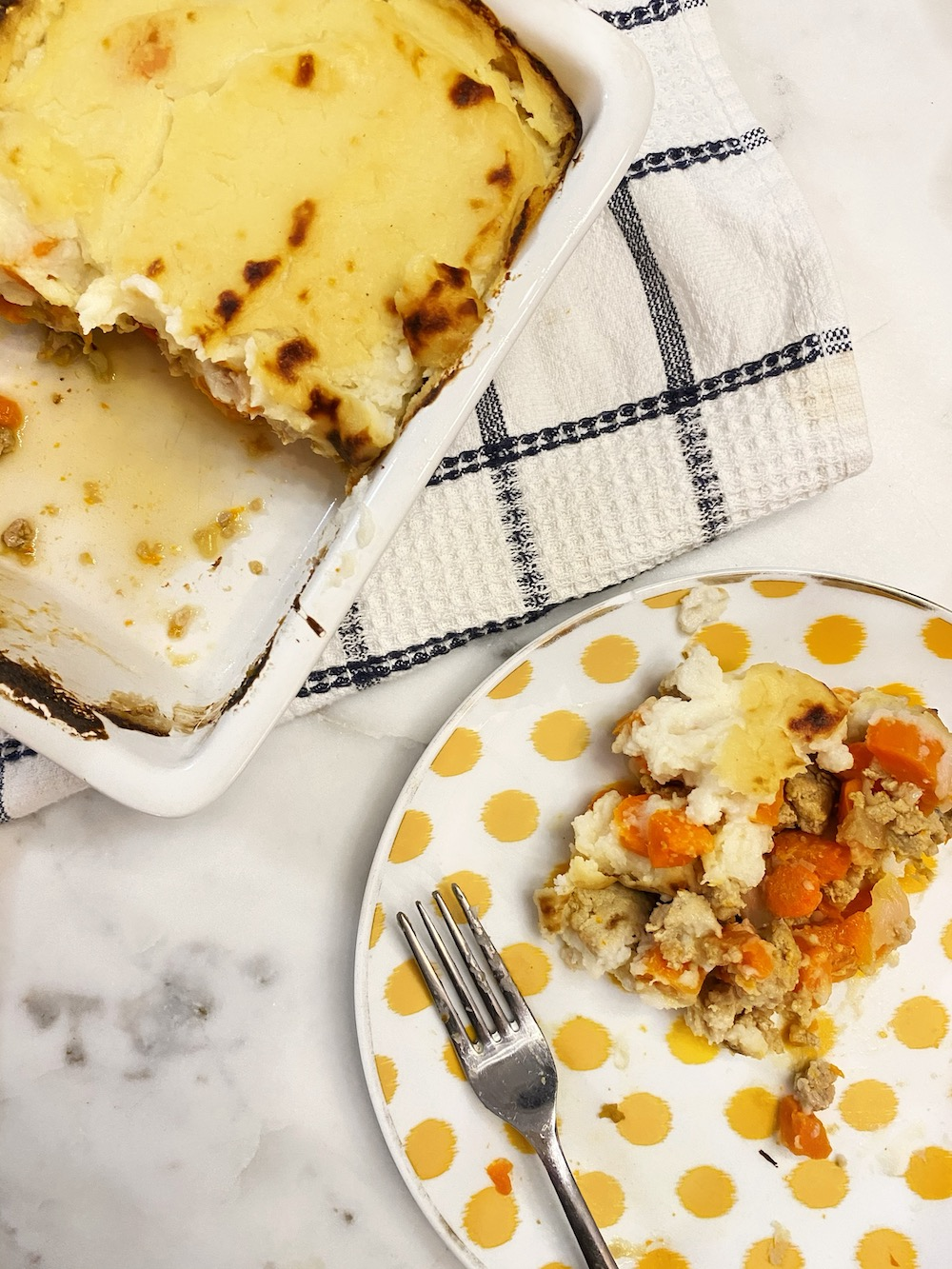 Simple Shepherds Pie {Gluten free, Nightshade Free, Dairy free, Whole 30, Paleo}