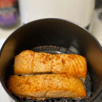 Fish filets in the pan