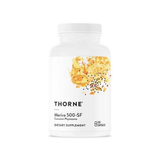 Thorne dietary supplement bottle