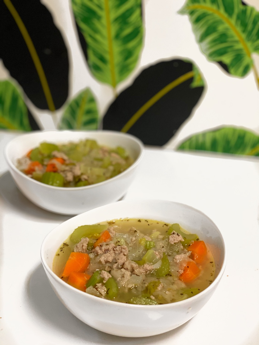 Easy Turkey Veggie Soup
